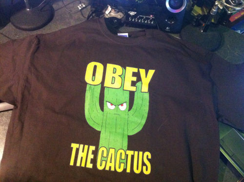 OBEY THE CACTUS T-shirt