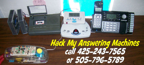 Answering machine hacking rbcps archive of stuff ive connected answering machines to all 4 lines and people from all over the world have been calling in to figure out how to hack them ccuart Images