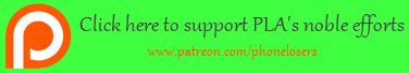 Click here to support PLA's noble efforts on Patreon.com