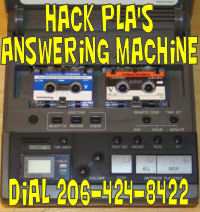 We have a bunch of answering machines that you can try to hack!  Click this for more information.
