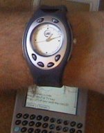 remote control wrist watch