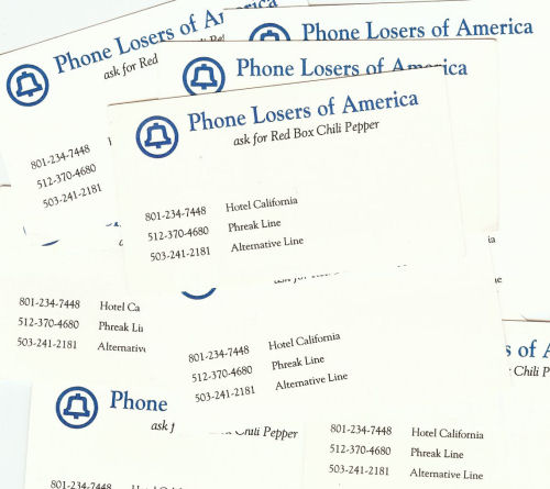 The original PLA business cards