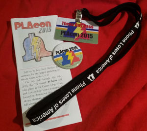 PLAcon 2015 Swag Pack