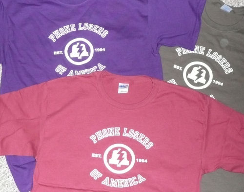 new PLA shirt colors