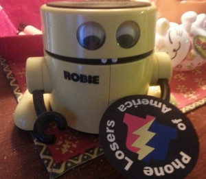 This 80's era Robbie from Radio Shack is owned by DS