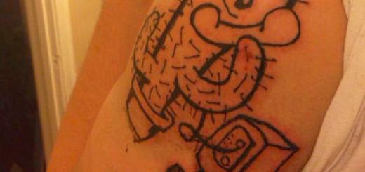 Dr Unk's Amazing Tattoo