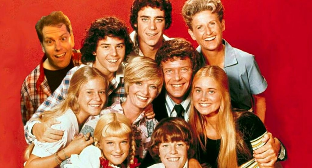 Thanks, Bill White, for sending me this picture from my favorite 1970's TV show - The Bradley Bunch