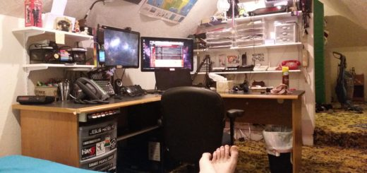 This is the current state of the PLA situation room and Brad's pedicure.
